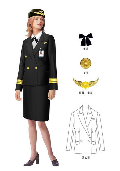 航空客运工服