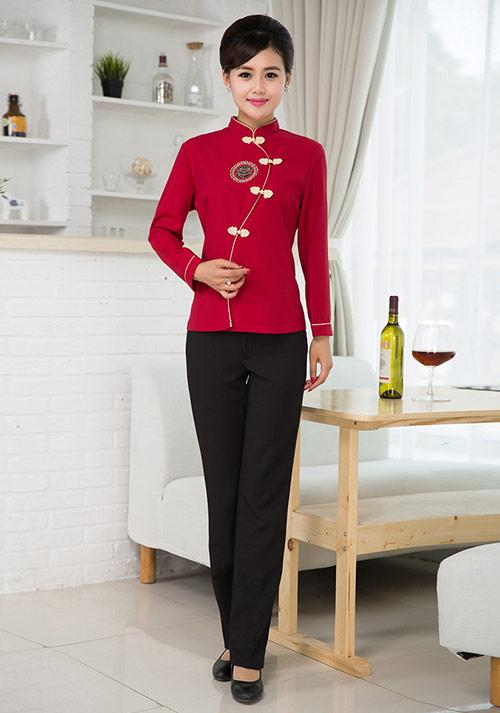 服务员女士服装