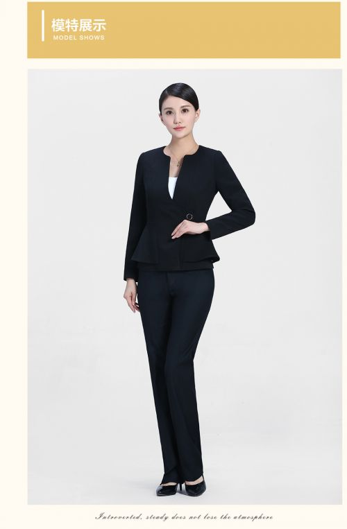 商务黑色套装