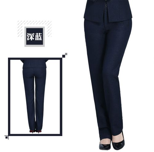 黑色女士西裤