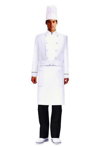 定制厨师制服的面料有哪些以及如何清洗干净?