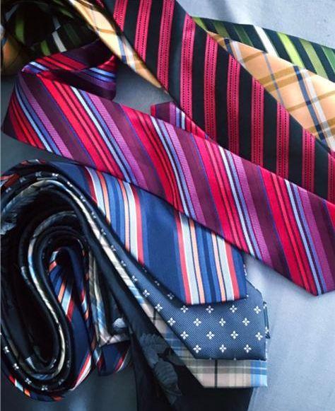 关于领带的正确打法与寓意